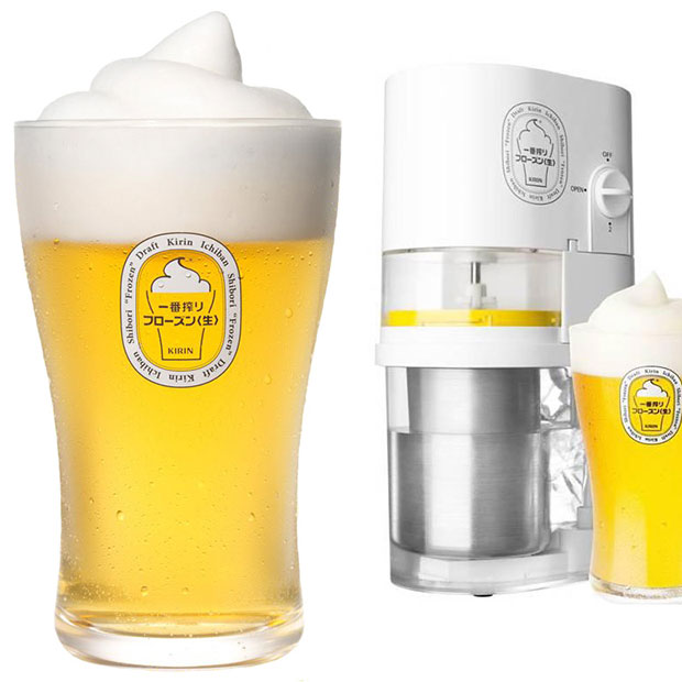 เครื่องทำฟองเบียร์และความเย็น