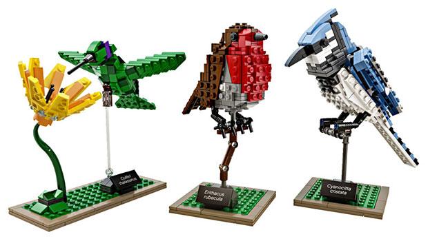 เลโก้รูปนก