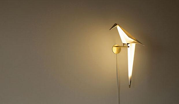 โคมไฟรูปนกแก้ว