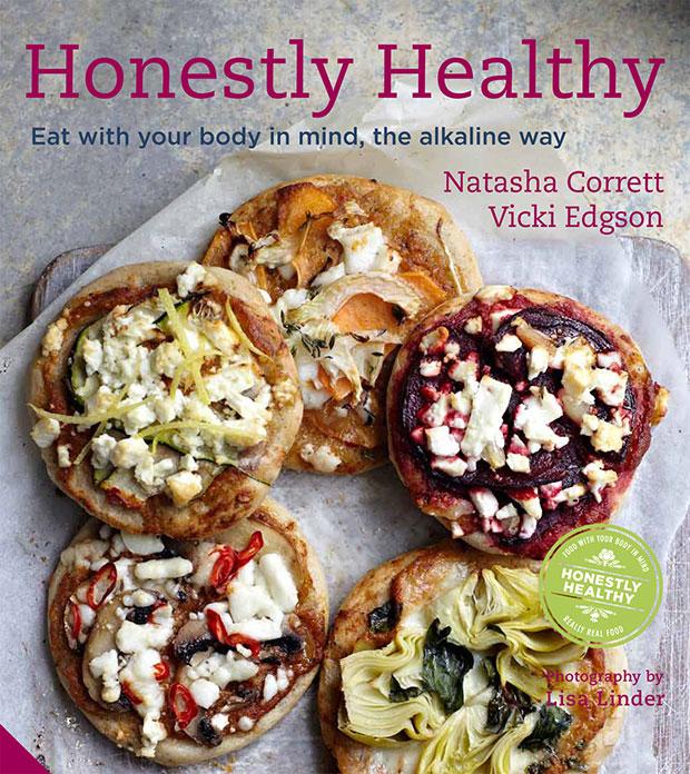 Honestly Healthy หนังสือ เกี่ยวกับการกินอาหารที่เป็นด่าง