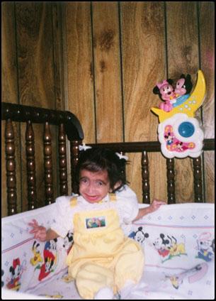 Lizzie Velasquez ตอนเด็ก