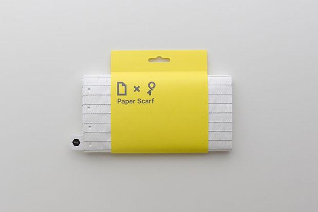 Paper Scarf ผ้าพันคอรูปกระดาษจดบันทึก