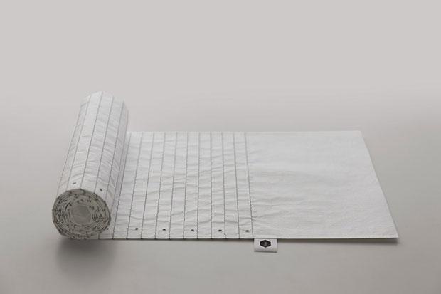 Paper Scarf ผ้าพันคอรูปกระดาษโน๊ต