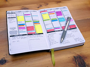 Passion Planner สมุดบันทึกรายสัปดาห์รายเดือน