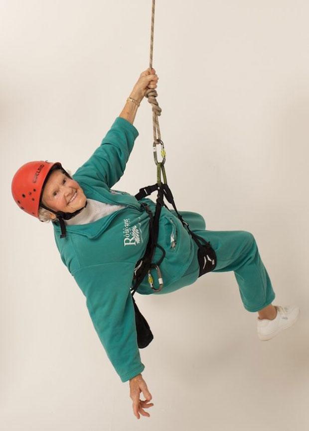 ดอริส ลอง Doris Long นักปีนเขา ผู้สูงอายุ