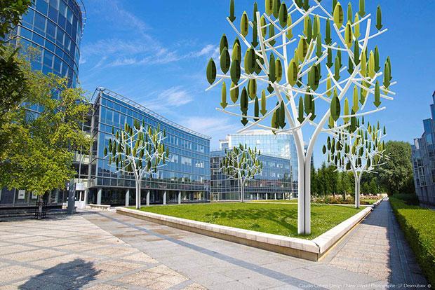 ต้นไม้กังหันลมผลิตกระแสไฟฟ้า Wind Tree