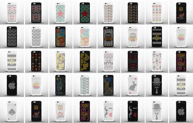 ออกแบบลายพิกเซลเองบนไอโฟนเคส