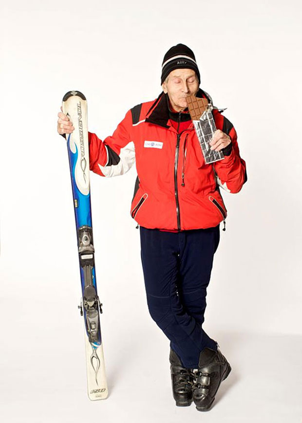 อเล็กซานเดอร์ โรแซนทัล Alexander Rozental นักสกีภูเขา ผู้สูงอายุ