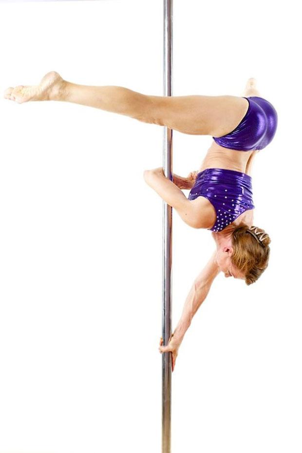 เกรต้า ปอนตาเรลลี่ Greta Pontarelly นักเต้นระบำรูดเสา ผู้สูงอายุ