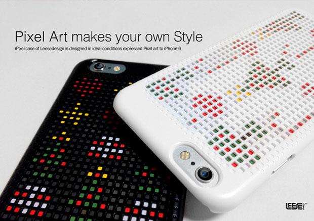 เคสไอโฟนลายพิกเซลที่ดีไซน์เองได้ Leese Design
