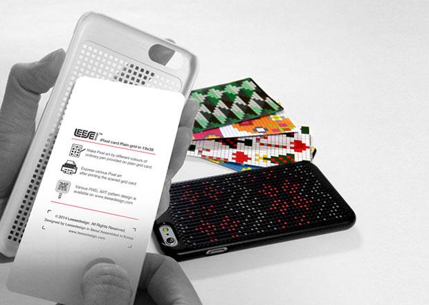 เคสไอโฟนลายพิกเซลที่ออกแบบเองได้