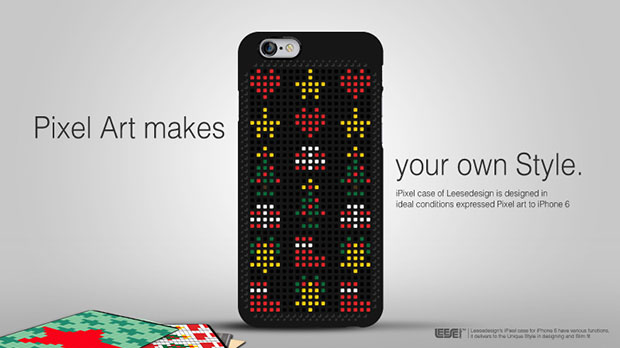 เคสไอโฟนลายพิกเซล Leese Design