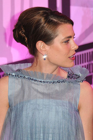 เจ้าหญิงชาร์ล็อตต์ คาซิรากี้ Monaco Rose Ball 2012