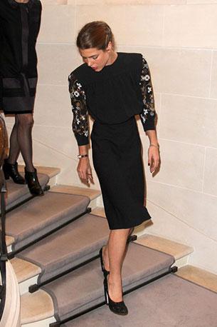 เจ้าหญิงชาร์ล็อตต์ คาซิรากี้ Vogue Fashion Celebration