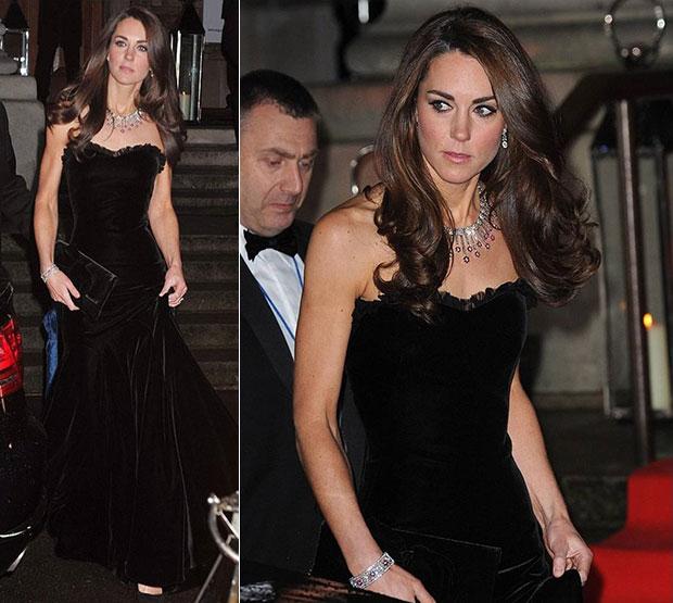 เจ้าหญิงเคท มิดเดิลตัน Duchess of Cambridge Alexander McQueen