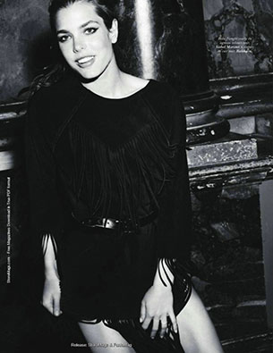 เจ้าหญิง Charlotte Casiraghi Vogue
