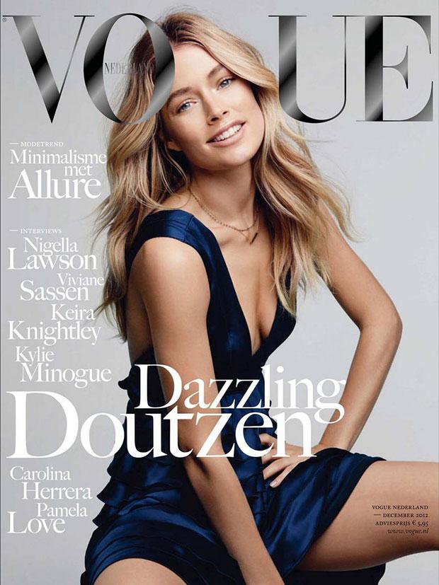 เดาท์เซน โครส์ Vogue