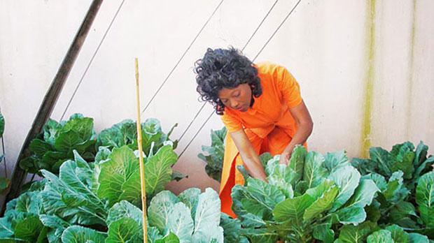 แอนเนตต์ ลาร์กินส์ Annette Larkins ผู้สูงอายุหน้าเด็กเพราะผักและผลไม้สด