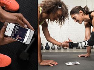 แอพพลิเคชั่นการออกกำลังกายสำหรับผู้หญิงของ NIKE