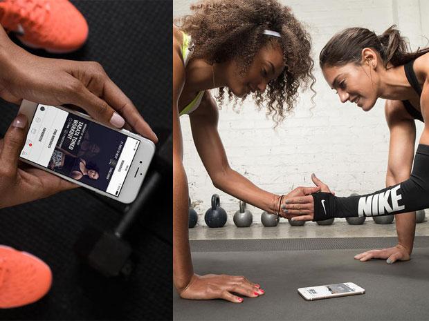 แอพพลิเคชั่นออกกำลังกายสำหรับผู้หญิงของ NIKE