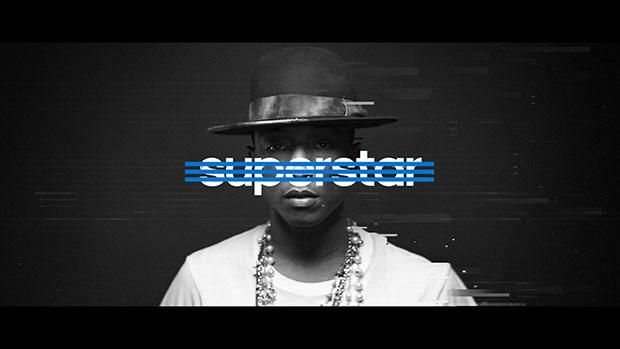 อาดิดาส เผยความเป็นซุปเปอร์สตาร์ในตัวคุณ Adidas Superstar Pharrell Williams