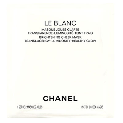 CHANEL LE BLANC Brightening Cheek Mask