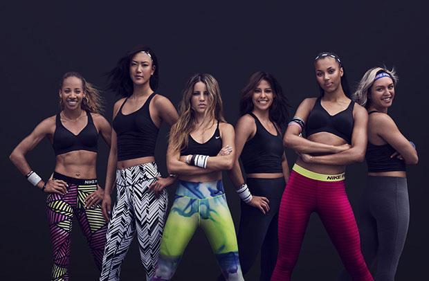 Leticia Bufoni, Marlen Esparza, Morgan Lake, Kyah Simon, Lea Wallace, Michelle Wie