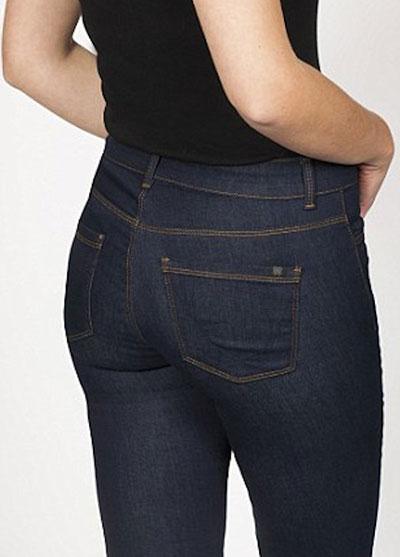 กางเกงยีนส์ยกก้นทำให้บั้นท้ายใหญ่ขึ้น ภาพก่อนใส่