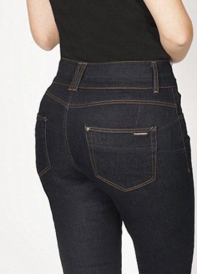 กางเกงยีนส์ยกก้นทำให้บั้นท้ายใหญ่ขึ้น ภาพหลังใส่