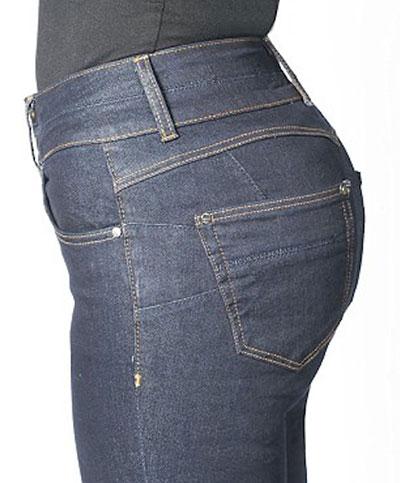 กางเกงยีนส์ยกก้นทำให้บั้นท้ายใหญ่ขึ้น