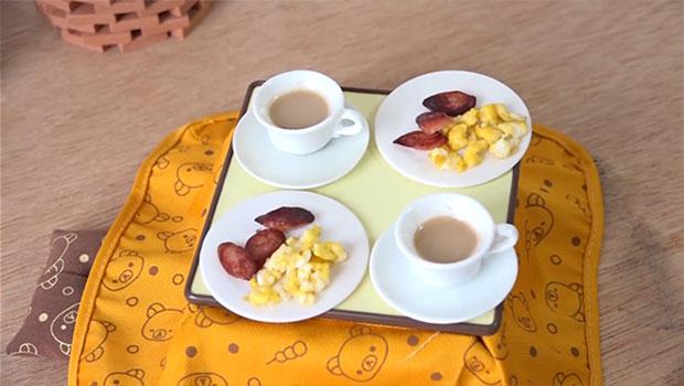 ครัวจิ๋ว อาหารเช้าจิ๋ว