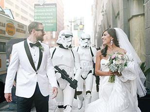 งานแต่งงานธีมสตาร์วอร์ส Star Wars