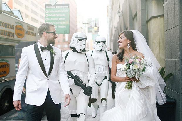 งานแต่งงานธีมสตาร์วอร์ส