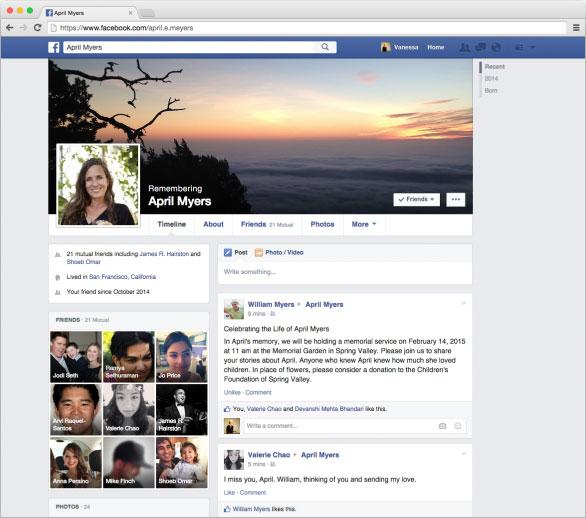 ตั้งว่าให้ใครเป็นผู้จัดการ Facebook ของเรา หลังจากที่เราเสียชีวิต Legacy Contact