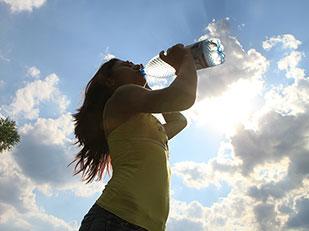 อาการขาดน้ำ