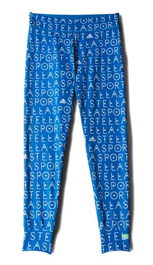 อาดิดาส สเตล่าสปอร์ต, Tight AOP กางเกงสีน้ำเงิน ลายตัวหนังสือสีขาว