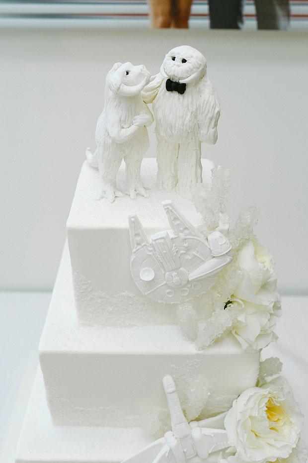เค้กแต่งงานธีมสตาร์วอร์ส