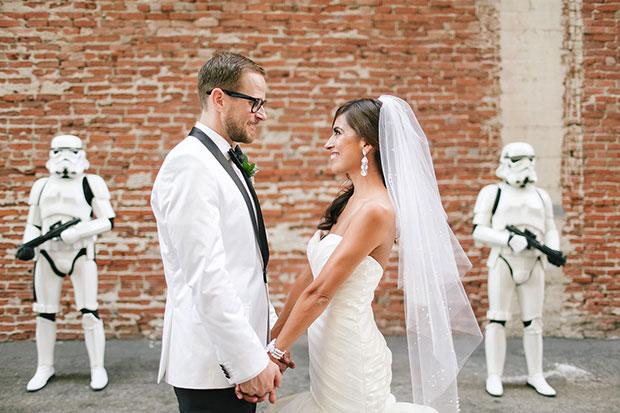 แต่งงานธีมสตาร์วอร์ส