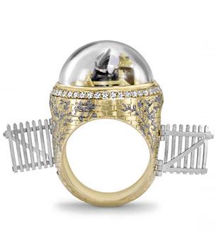 แหวนตัวตุ่นกับคางคก
