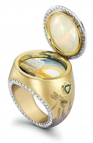 แหวนอัญมณีโอปอล