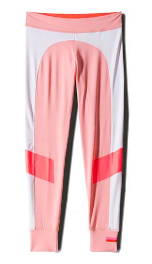Adidas StellaSport, Tight Macaroon กางเกงสีชมพูสีขาว