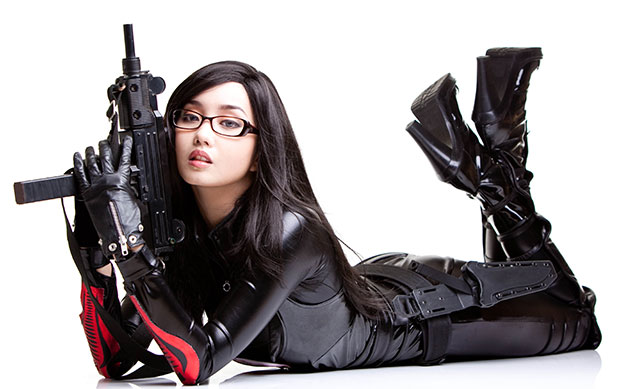 Alodia Gosiengfiao, คอสเพลย์ G.I.Joe, Ana, The Baroness