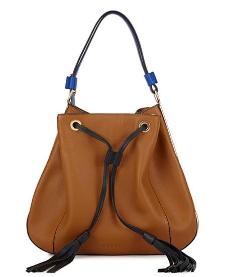 กระเป๋าสีน้ำตาล Marni