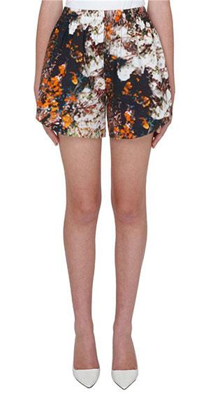 กางเกงขาสั้นลายดอกไม้ Carven