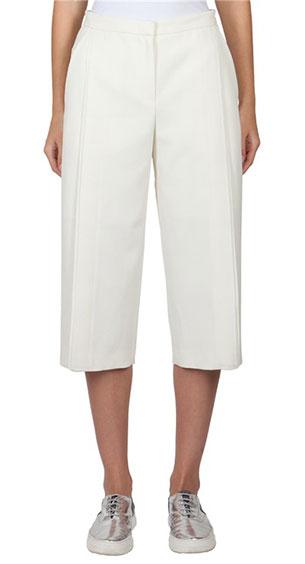 กางเกงสามส่วน สีขาว O'2nd