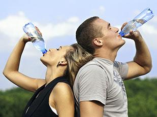 ปริมาณน้ำที่ควรดื่มแต่ละวัน