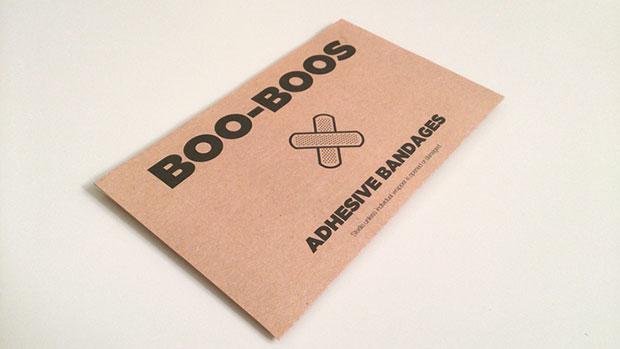 พลาสเตอร์รูปแผล Boo Boos