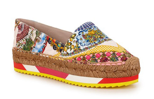 รองเท้าลายพิมพ์ Dolce & Gabbana