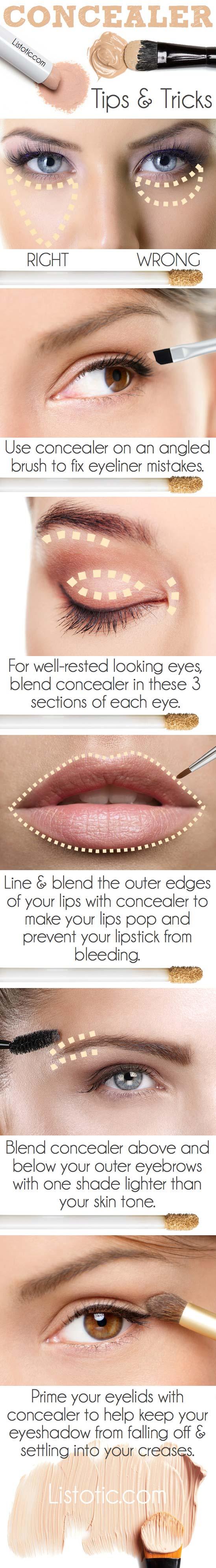วิธีใช้ Concealer