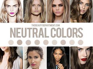 สีผม Neutral